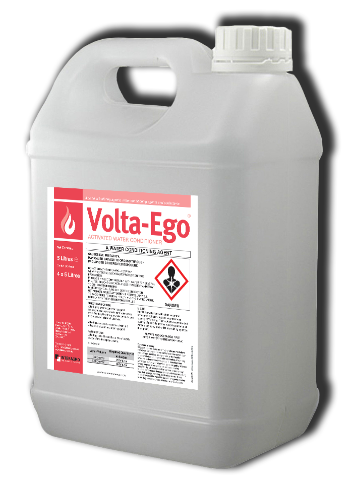 Effective stubble cleaning with Volta-Ego